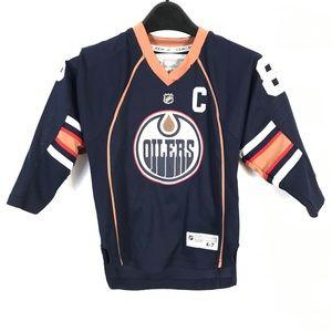 Oilers NHL AYAAN 88 children jersey (4-7)